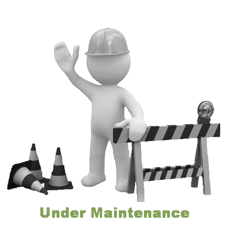 The Page is Under Maintenance